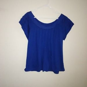 Route 66 Women's short sleeve top size 3X blue
